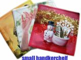 Toalha de mão de microfibras impresso personalizado e lenço (122)