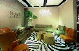 Mobília viva do quarto de hotel de Nubuck do projeto italiano novo