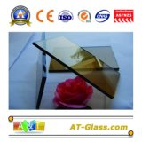 染められたフロートガラスまたは建物ガラスカラー、厚さ: 4mm、5mm、6mm。 8mm、10mm、緑、青い青銅
