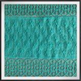 laço Chiffon do bordado 100%Polyester
