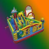 Parc d'Attractions gonflables