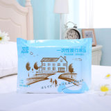 Venta directa de la fábrica Ayude ropa de cama desechable para el hotel y el recorrido