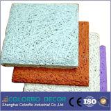 Neues schalldichtes materielles Holzwolle-fehlerfreie Isolierungs-Panel
