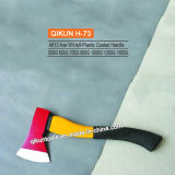 H-73 ascia della maniglia ricoperta plastica mezza A613