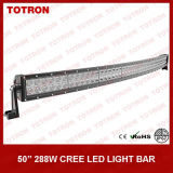 Hoge Lumen 288W 50 Inch Curved Light Bar met CREE LED Chip (TLB3288X)