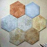 Tegel Zes van de Vloer van het Bouwmateriaal Goedkope Rustieke Ceramische de Baksteen van Hoeken
