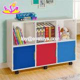Multifuncional de alta qualidade meninos Caixa de brinquedos de madeira com Personalizar W08C249