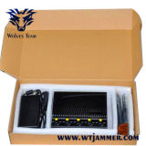 Adjustable 5.2g 5.8g 2.4G Wi-Fi Jammer (With 4 Antennas)