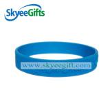 Bracelet personnalisé Debossed Silicone pour Promotion