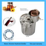 La venta caliente 10L / 3Gal acero inoxidable hidroalcohólicas aceite esencial de rosa Destilador de vapor para la venta