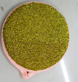 Récureur rond avec l'éponge (GP-005)