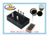 Rempotage électronique et d'encapsulation du caoutchouc de silicone