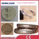 Гравировальный станок лазера металла волокна Ipg карточки маркировки Германии Samlight глубоко наслоенный