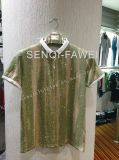 Splatter Imprimir polo, camiseta en el hombre Ropa deportiva ropa Fw-8650