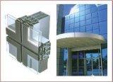 Glace inférieure de construction de mur d'E/Laminated/Insulated/Tempered/Curtain avec la qualité (JINBO)
