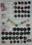 衣服のABSめっきボタン(YY002)