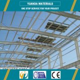 Напольная светлая стальная структура для амбара пакгауза мастерской