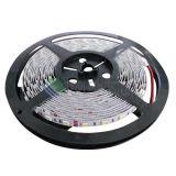CRI caliente 80 del blanco del alto lumen de la C.C. 12V 24V 14.4W tira de 5050 LED
