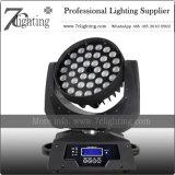 Éclairage principal mobile de lavage DEL 360W de zoom UV de RGBWA (36X10W)