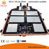 Pack batterie rechargeable et personnalisé de la taille 72V 160ah LiFePO4, pack batterie d'ion du lithium 48V 60V 40ah 50ah Li