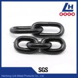 Angestrichene schwarze anhebende Kette des legierten Stahl-G80 En818-2