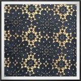 Цветочный букет Guipure вышивки ткань кружева