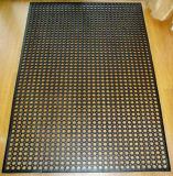 Anti-Fatigue industrielle le tapis de sol en caoutchouc de la cuisine de drainage