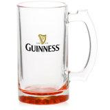 16oz de transparante Lege Mok van het Bier van de Bar voor de Druk van de Foto