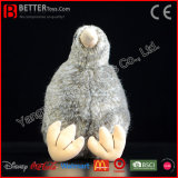 ASTM 박제 동물 북쪽 섬 브라운 키위 견면 벨벳 키위 연약한 새 장난감