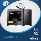 Imprimante 3D, Priter Rapid-Prototype 3D, Meilleure imprimante 3D pour la vente, la dimension imprimantes 3D