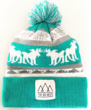 L'exportation vers l'Europe, brodé Chapeau tricoté Beanie Hat et l'hiver Cap