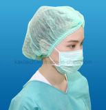 Masque facial non tissé jetable avec Earloop 3ply