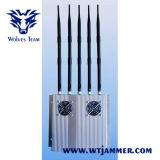 5 Antenne haute puissance 25W 3G Brouilleur de téléphone cellulaire (avec alimentation détachable extérieure)