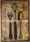 Набор ножей дизайн прямоугольная табличка бумаги из дерева MDF стены оформлены зубного налета
