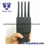 8 vendas Handheld todo el teléfono celular y emisión de la señal de WiFi GPS con el caso de nylon