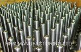 Forjamento fazendo à máquina de moedura personalizado do aço de carbono da dureza do pistão do martelo da peça da precisão da alta qualidade da multa do CNC para a máquina da construção