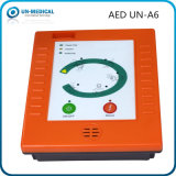Défibrillateur externe automatisé par AED portatif de premiers secours d'hôpital