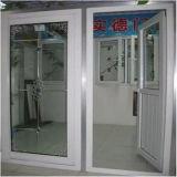 上の半分ガラスPVCボードのドア
