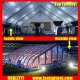Courbe PVC Aluminium tente de renom pour la Conférence de 2000 personnes places Guest