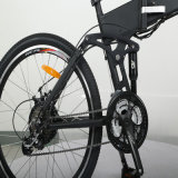 batería ocultada 26inch plegable la bici de E
