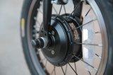 Bicicleta elétrica 24V 180W Ebike Foldable de Qualisports com motor sem escova a bateria escondida do Li-íon