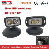 2018 Nouveau montage encastré 10W phare de travail LED Osram EMC