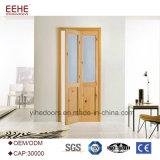 Portello di legno semi solido materiale dell'interiore del portello del MDF