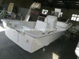 Liya 580の漁師のボートの海釣の容器