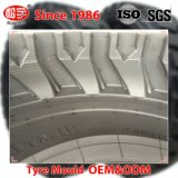 掘削機のタイヤのためのカスタマイズされた二つの部分から成った12.00-20鋼鉄放射状タイヤ型
