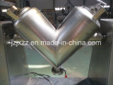 Mezclador de forma de V arriba eficiente inoxidable del polvo del acero