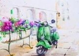 L'huile sur toile moderne étonnant fait main peinture pour le commerce de gros