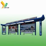 Indicador psto solar novo da estação de autocarro do quadro de avisos do diodo emissor de luz da tecnologia 4G WiFi