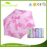 Instrument promotionnel de cadeau de parapluie pliable ultra mini pour Madame