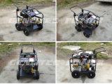 rondelle 3600psi à haute pression diesel avec le début principal et les roues